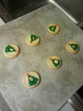 Pillsbury Xmas Tree Cookies